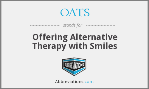 OATS - Offering Alternative Therapy with Smiles