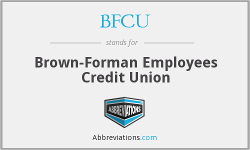 BFCU - Brown-Forman Employees Credit Union
