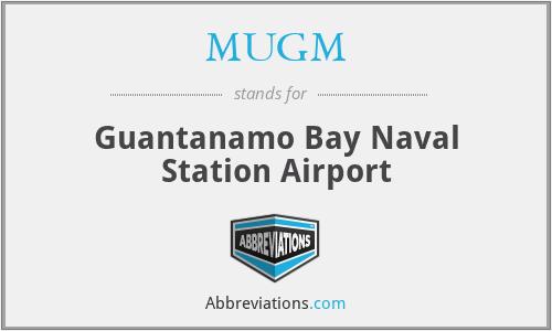 MUGM - Guantanamo Bay Naval Station Airport