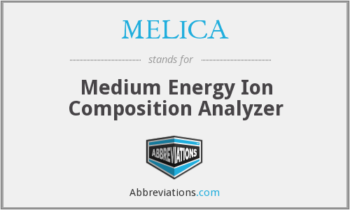 MELICA - Medium Energy Ion Composition Analyzer