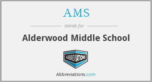 AMS - Alderwood Middle School
