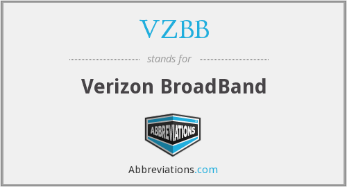 VZBB - Verizon BroadBand
