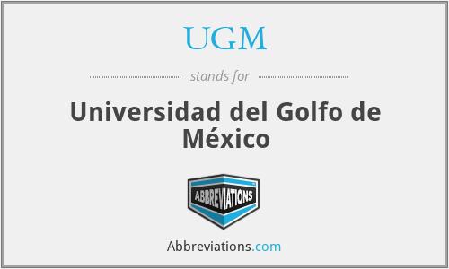 UGM - Universidad del Golfo de México