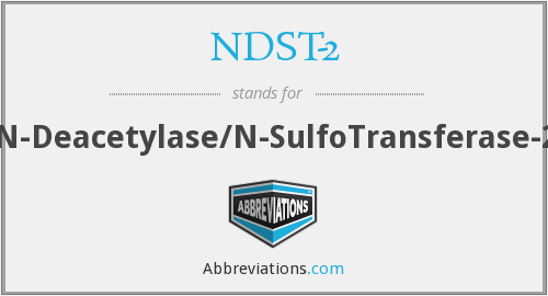 What does NDST-2 stand for?
