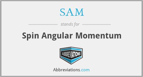 SAM - Spin Angular Momentum