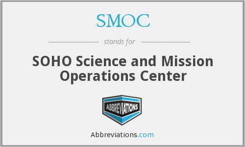 SMOC - SOHO Science and Mission Operations Center