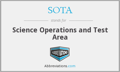 SOTA - Science Operations and Test Area