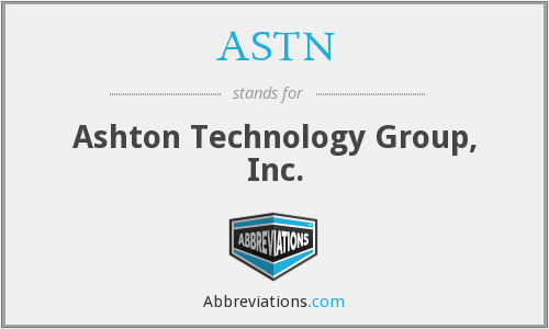 What does ASTN stand for?