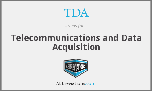 TDA - Telecommunications and Data Acquisition