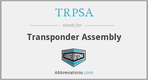 What does TRPSA stand for?