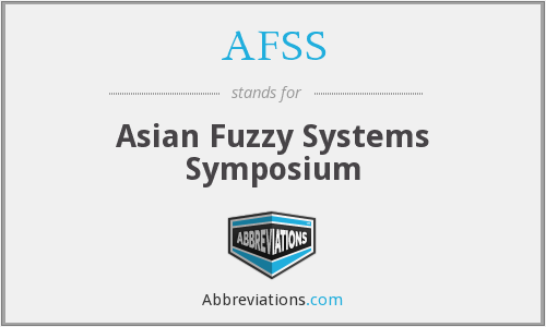 AFSS - Asian Fuzzy Systems Symposium
