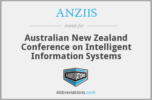 What does ANZIIS stand for?