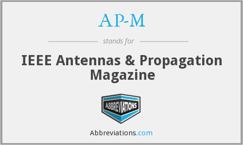 What does AP-M stand for?