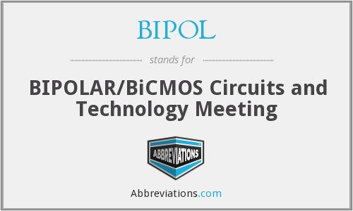 BIPOL - BIPOLAR/BiCMOS Circuits and Technology Meeting