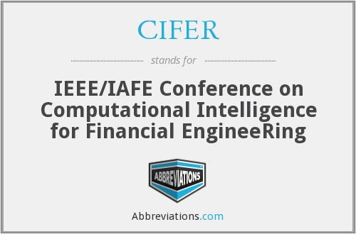 What does CIFER stand for?