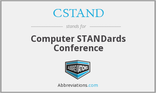 CSTAND - Computer STANDards Conference