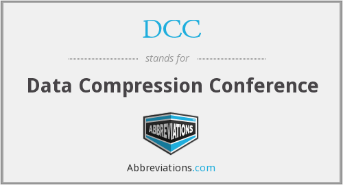 DCC - Data Compression Conference