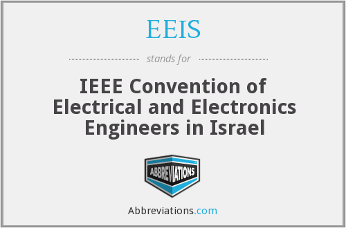EEIS - IEEE Convention of Electrical and Electronics Engineers in Israel
