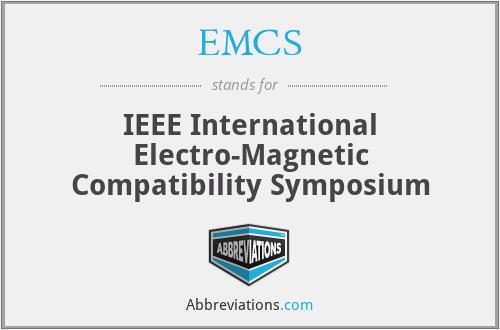EMCS - IEEE International Electro-Magnetic Compatibility Symposium