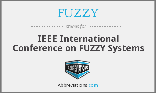 FUZZY - IEEE International Conference on Fuzzy Systems