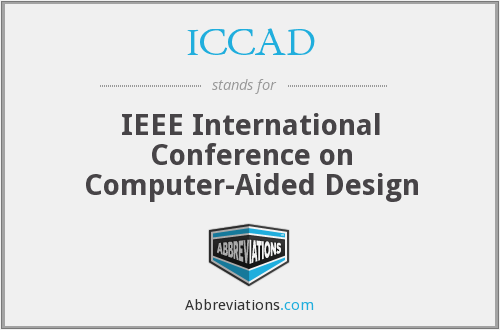 ICCAD - IEEE International Conference on Computer-Aided Design