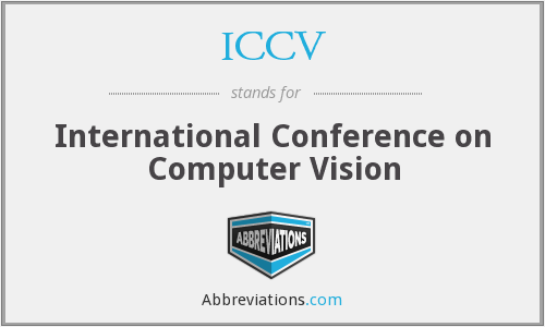 What does ICCV stand for?