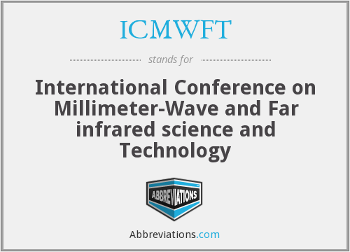 What does ICMWFT stand for?