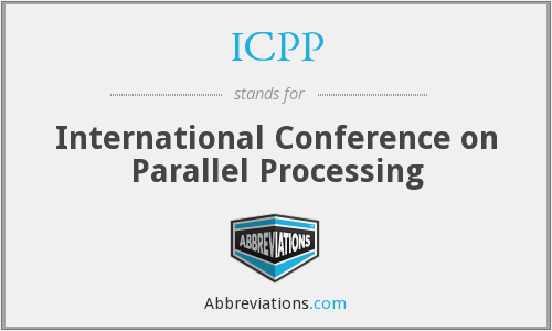 What does ICPP stand for?