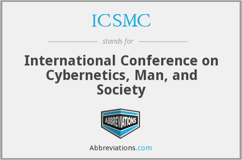 ICSMC - International Conference on Cybernetics and Society