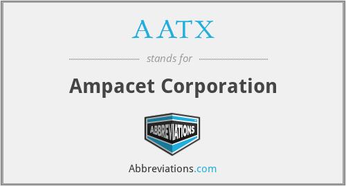 AATX - Ampacet Corporation