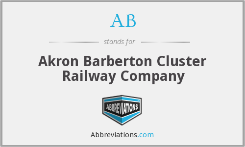 AB - Akron Barberton Cluster Railway Company