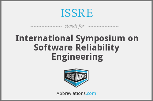 What does ISSRE stand for?