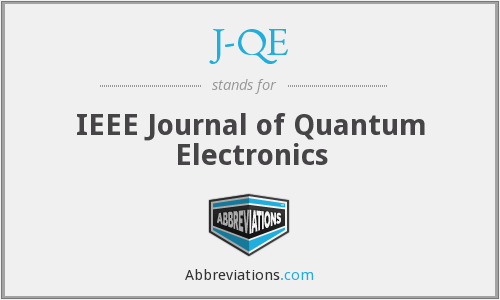J-QE - IEEE Journal of Quantum Electronics