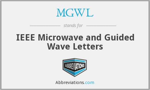 What does MGWL stand for?