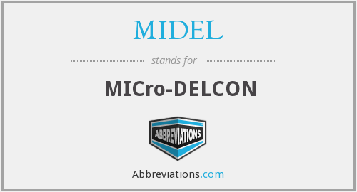 What does MIDEL stand for?