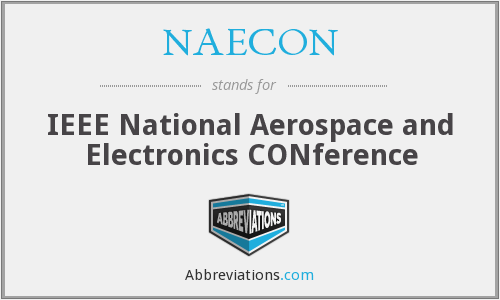 What does NAECON stand for?