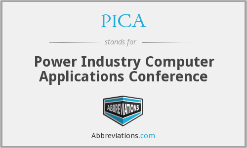 PICA - Power Industry Computer Applications Conference