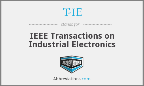 What does T-IE stand for?