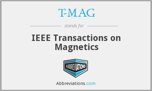 T-MAG - IEEE Transactions on Magnetics