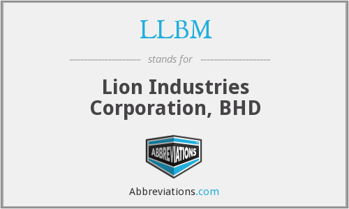 LLBM - Lion Industries Corporation, BHD
