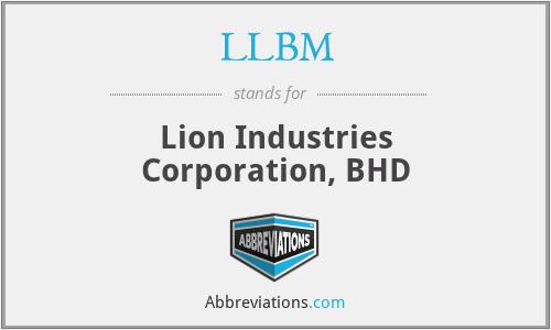 LLBM - Lion Industries Corporation, BHD