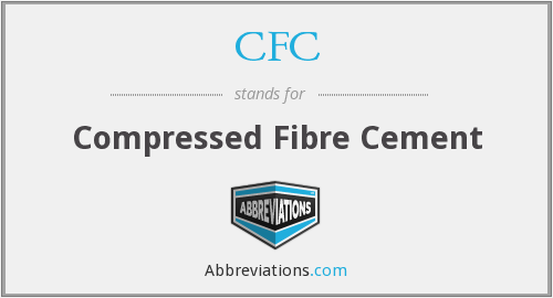 CFC - Compressed Fibre Cement