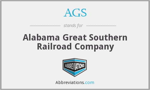 AGS - Alabama Great Southern Railroad Company