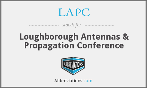 LAPC - Loughborough Antennas & Propagation Conference