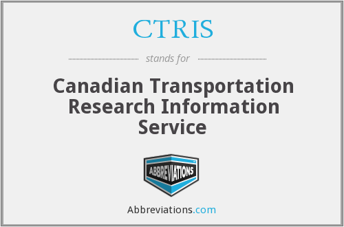 What does CTRIS stand for?
