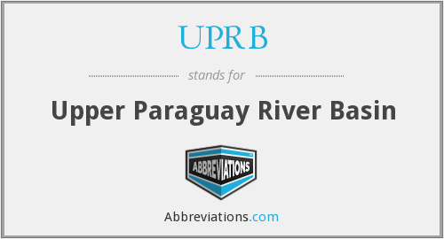 What does UPRB stand for?