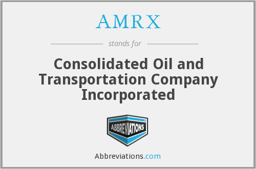 What does AMRX stand for?