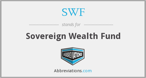 SWF - Sovereign Wealth Fund