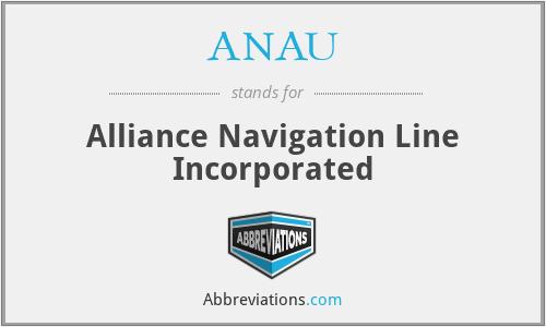 ANAU - Alliance Navigation Line Incorporated