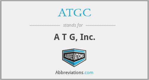 ATGC - A T G, Inc.